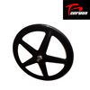 Hot selling 100% pure carbon 700c carbon five spoke wheel, track and road front wheel