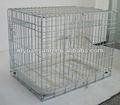 cinq tailles ruban métallique pliable cage de transport pour animaux de compagnie