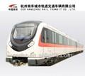 El área metropolitana del vehículo, vagón de metro, coches de ferrocarril