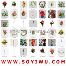 flores decorativas funeral mayorista para las flores artificiales