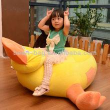 Kid Bean Bag Chair, kid Bean bag Sofa, duck shape Children furniture