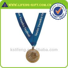 custom stamped metal medallion