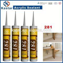 paintable acrylic paint sealant for bathroom