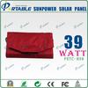Mini Sunpower tax exemption 39W Solar Folding Panel high efficient (PETC-H39)