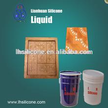 Liquid white rtv2 for gypsum plaster moulding