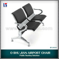 Design moderno doca cadeiras de espera com almofada macia SJ820A