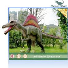 amusement park life size cheap mechanical dinosaur
