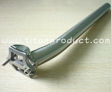 Titanium SeatPost 27.2/31.6MM/CNC Head/Setback