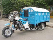 Rubblish cargo box three wheel motorcycle/tricycle