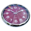 Unregular plastic lens with big diamond dial numbers wall clock