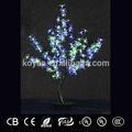 0.9m 2015 nova mudança da cor artificial diodo emissor de luz da árvore pj-128 colorido