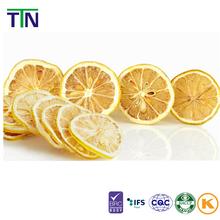 TTN Natural Green Food With Advanced Technology Dry Lemon Vacuum Freeze Dried Lemon