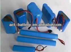 18650 12Ah 3.7V Li Ion battery pack for gps