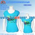 Sıcak satış yeni tasarım erkek kadın t- shirt spor gömlek 2012-2013 kravat boyalı tükenmişlik t- shirt