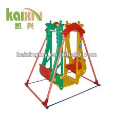 Hot saling Plastic Children Double Swing