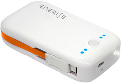 New unibody 5600 mAh power bank with built-in USB cable