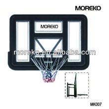 """Wall Mounting 44"""" Acrylic Basketbal Backboard With Steel Bracket MK007"""