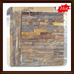 rusty slate exterior wall stone tile