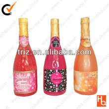 New Design 750ml shimmer bubble bath / champagne bottle bath bubble
