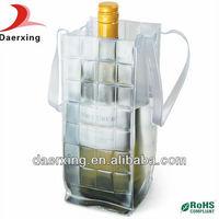 china manufacturer wholesale fashion pvc wine cooler bag