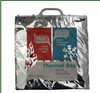 Custom logo printed thermal food storage bag foil carry bag