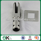pool fence stainless steel spigot glass