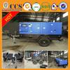 Hot Sale 80kw 100kva with cummins engine Trailer Mounted Generator