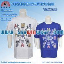 Custom made humorous design pre-shrunk cotton shirts summer shirts 2012