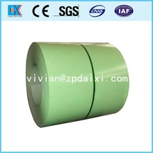 prepainted galvanized steel color coated coil manufacture