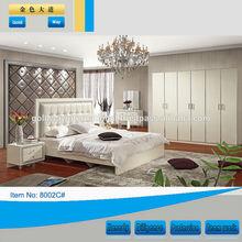Indian furniture bedroom beds/bedroom furniture china(8002C)