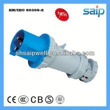 2013 NEW Industrial IP67 4P+N+E Waterproof 4-pin industrial power plug