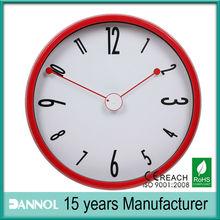 12 Inch Quartz Plastic Wall Clocks Funny Designs