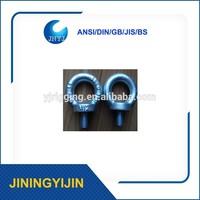 high tensile Stainless steel DIN580 flat eye bolt