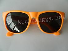 Hot sale traveler promotional fashion orange frame sunglasses
