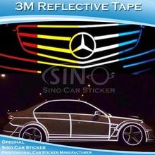 รับประกัน3ปีการออกแบบรถเดิม3mแถบสะท้อนแสงฟิล์ม