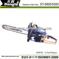 Caliente- la venta ce de gasolina de la motosierra 5800 5200