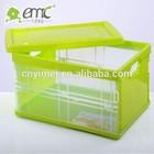 large capacity plastic storage box with lid