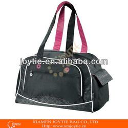2014 Lastest waterproof traveling bag with strap lugage bag travel bag