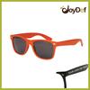 Neon Orange Sunglasses Aceate Own Designed Sunglass