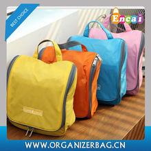 Encai Wholesale Good Quality Travel Hanging Hotel Toiletry Bags/Cosmetic Bag/Waterproof Bath Toiletries Kits