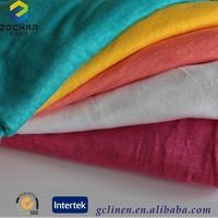 100% linen fabric