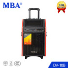Portable surround sound mp3 radio speaker for karaoke dancing in square