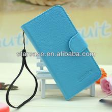 flip leather mobile phone case for lenovo s820