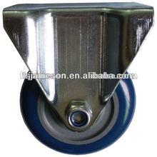 75mm Rigid fixed Polyurethane pu Caster wheels with ball bearing/bearing wheel