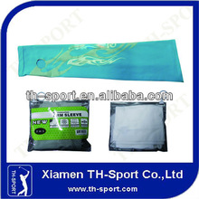 custom uv protection sport arm and hand sleeves