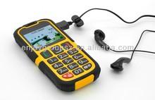 Newest IP67 waterproof, shockproof Senior mobile phone cell phone