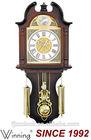 Aluminium Dial Wall Clock, Antique Plastic Pendulum Wall Clock