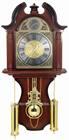 Plastic Material , Wooden Color Antique Pendulum Wall Clock