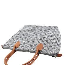 Jacquard full-color print nylon winter woman shopping bag,tote bag