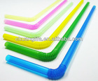 Plastic drinking straw - flexible